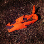 Runyon Orange Bark Signature Bandana made in usa fitness wear running hiking yoga outdoors runyon canyon apparel