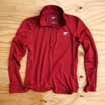 Runyon Women's Burgundy Performance Running Zip made in usa fitness wear running hiking yoga outdoors runyon canyon apparel