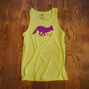 Runyon Women's Hot Purple Running Fitness Tank Top made in usa fitness wear running hiking yoga outdoors runyon canyon apparel