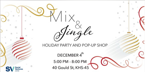 ECDI Partner-2-Play I Ryerson holiday pop up shop