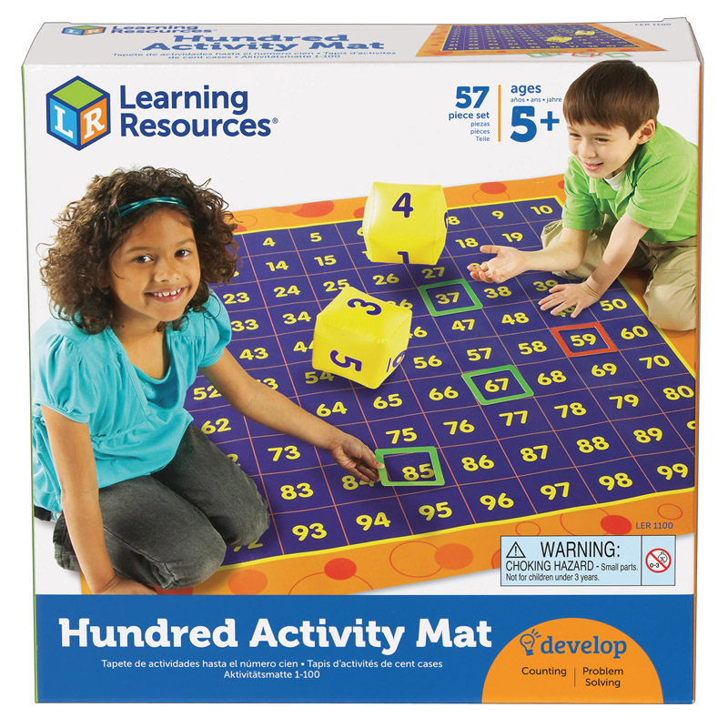 Hundred Activity Mat - 57 Pcs. Ages 5+ - ECDresource