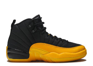 "JORDAN 12 RETRO (TD) ""BLACK UNIVERSITY GOLD"""