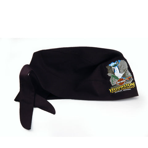 Yellowstone Harley-Davidson Waterfall Dealer Head Wrap