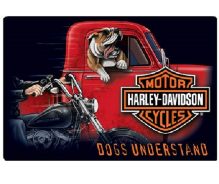 H-D® Dogs Understand Sign
