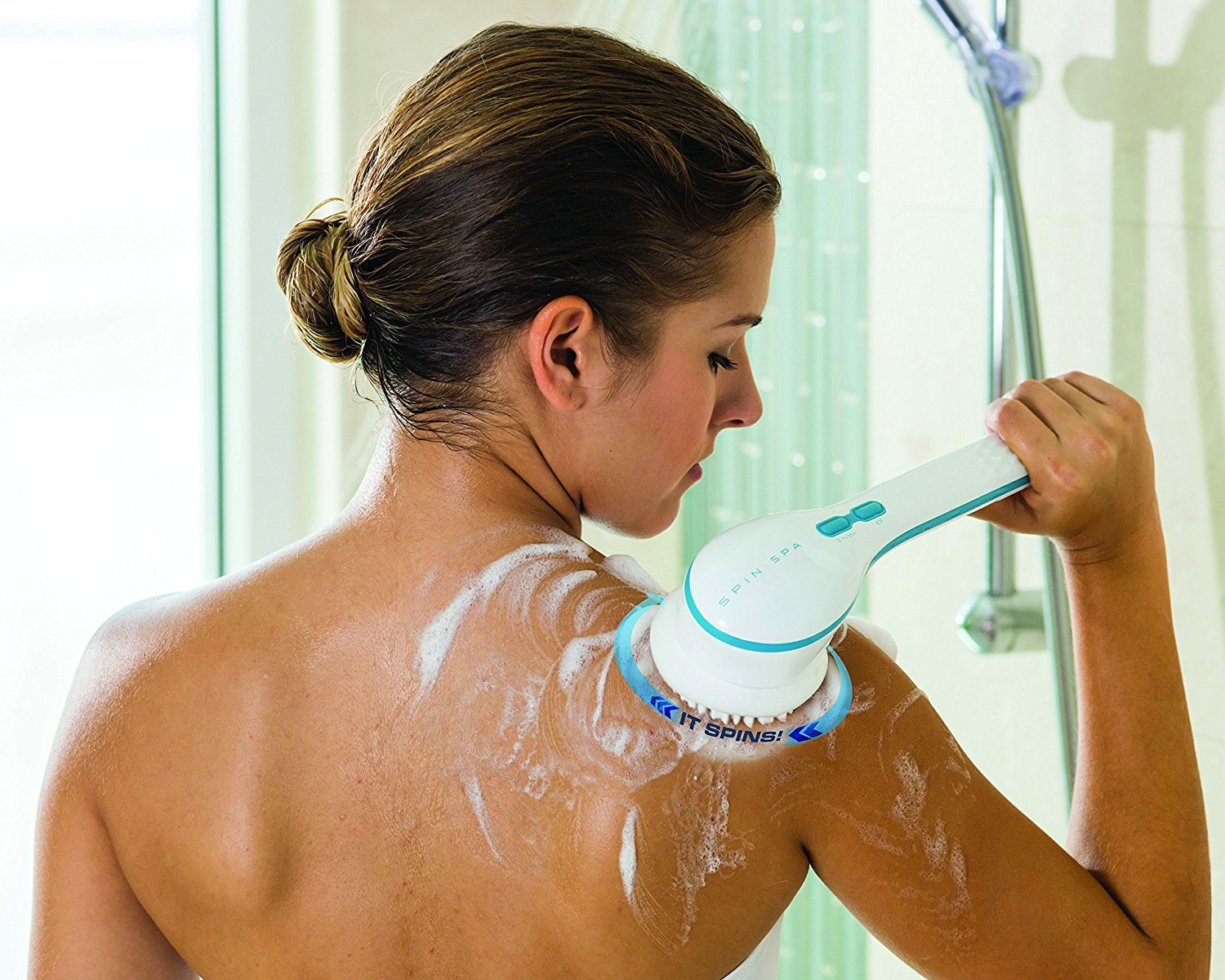 Electric Spin Bath Brush - 50% OFF
