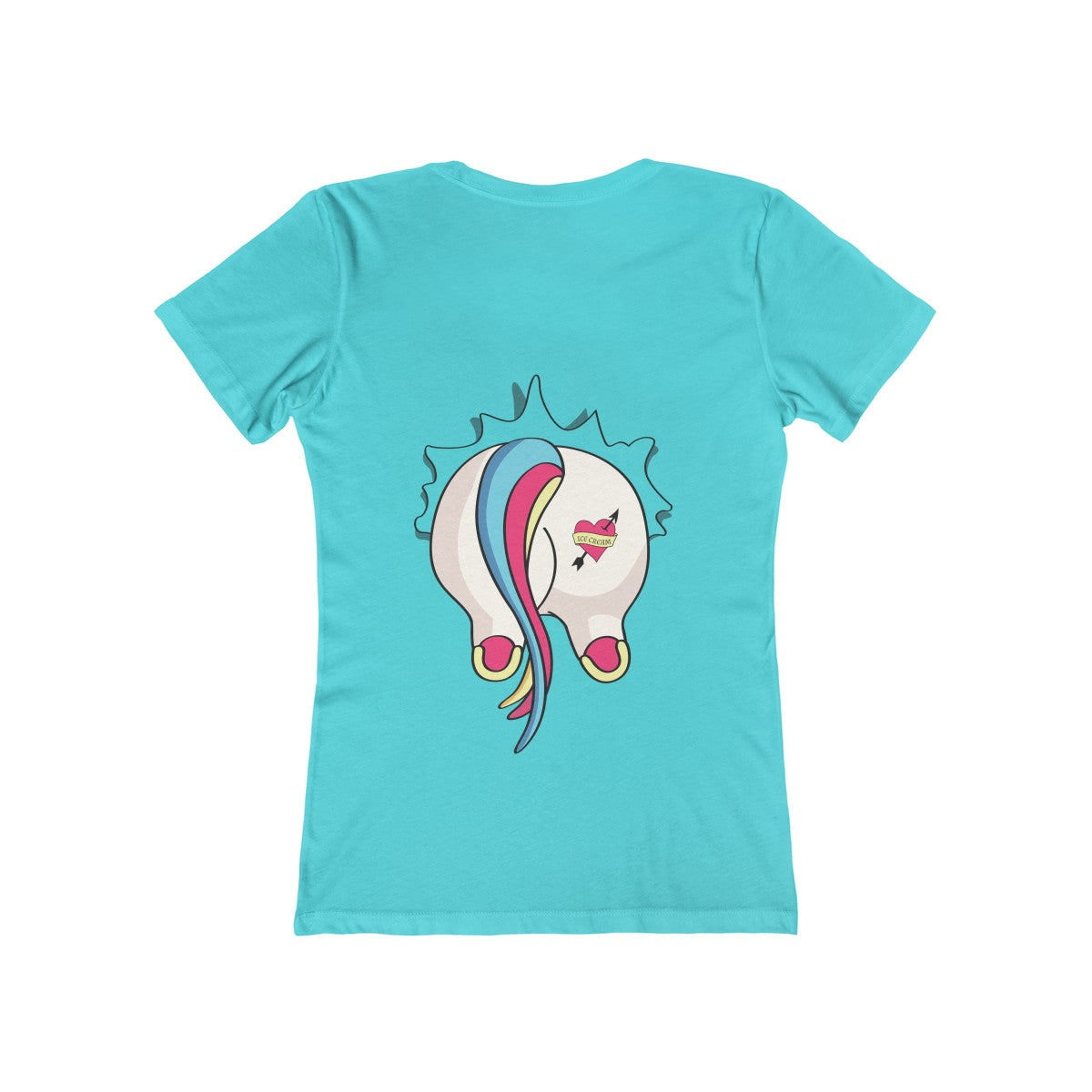 EXCLUSIVE DESIGN - Women's Free Your Inner Unicorn Tee (Censored ver.) - 70% OFF!