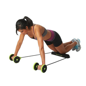 Double Roller Abdominal Trainer SALE - 75% OFF!