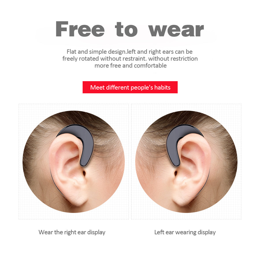 Premium Ear-hook Headset - 70% OFF!