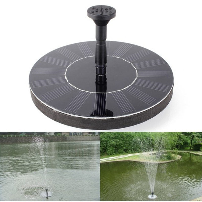 Floating Solar Power Fountain - 60% OFF