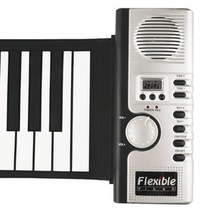 Flexible Roll Up Electronic Piano Keyboard - 60% OFF!
