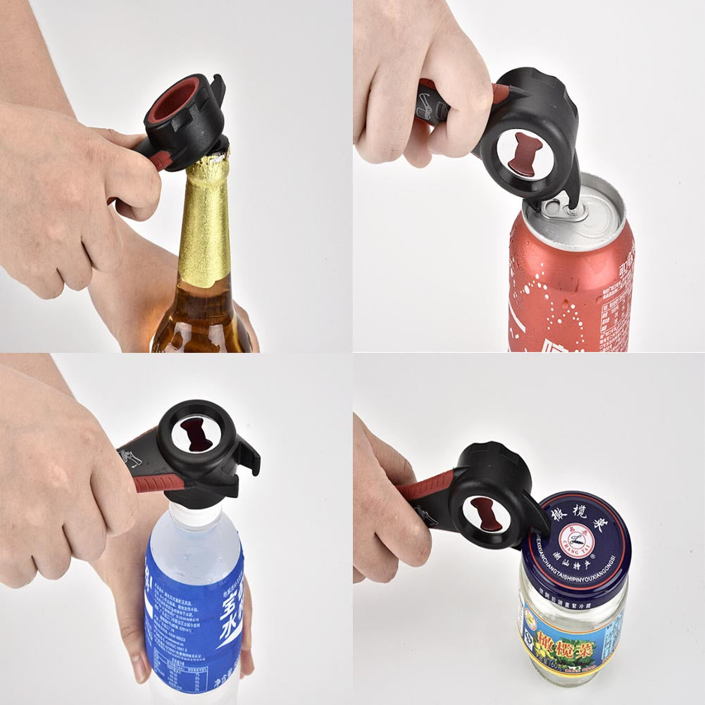 5 in 1 Creative Multifunction Stainless Steel Can Opener