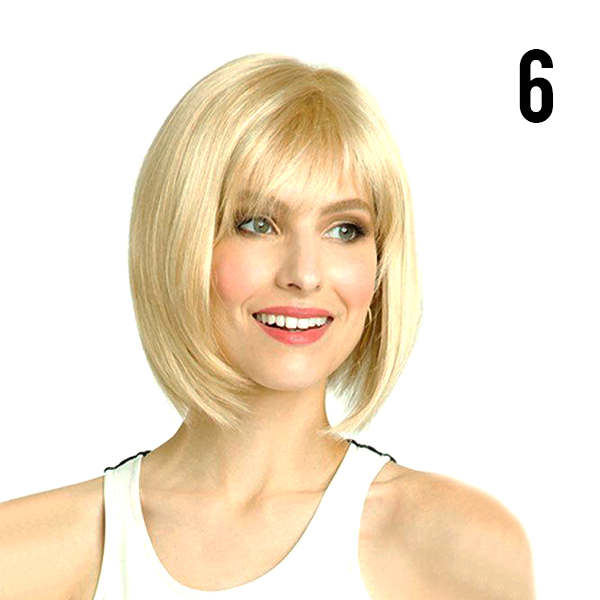 Natural Short Style Wig - 80%OFF! Very Limited Stock!