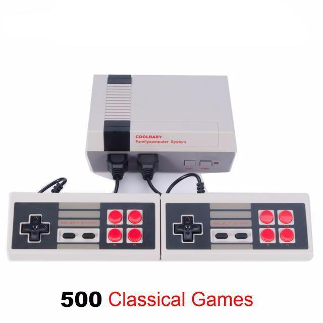 Classic Mini Video Game Console with 500 Games - 60% OFF!