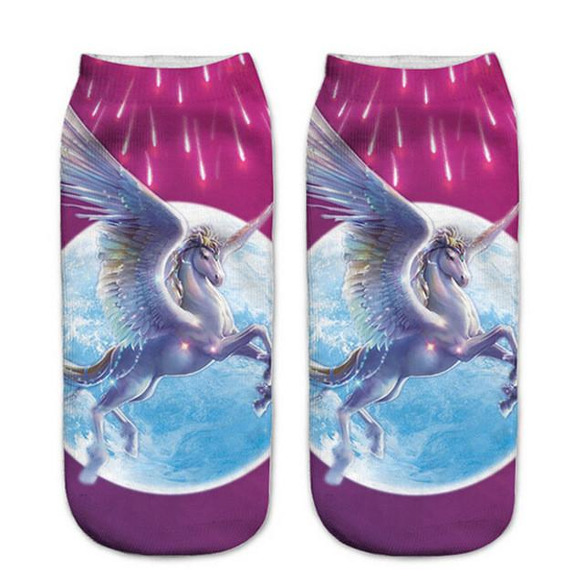 7 PACK! Lovely Unicorn Socks - 70% OFF!