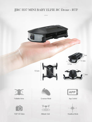 Foldable Baby Elfie Drone -60%FREE!