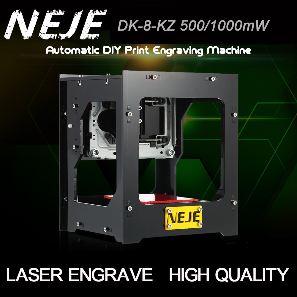 High-Speed USB Laser Engraver + Protective Glass - 60% OFF!