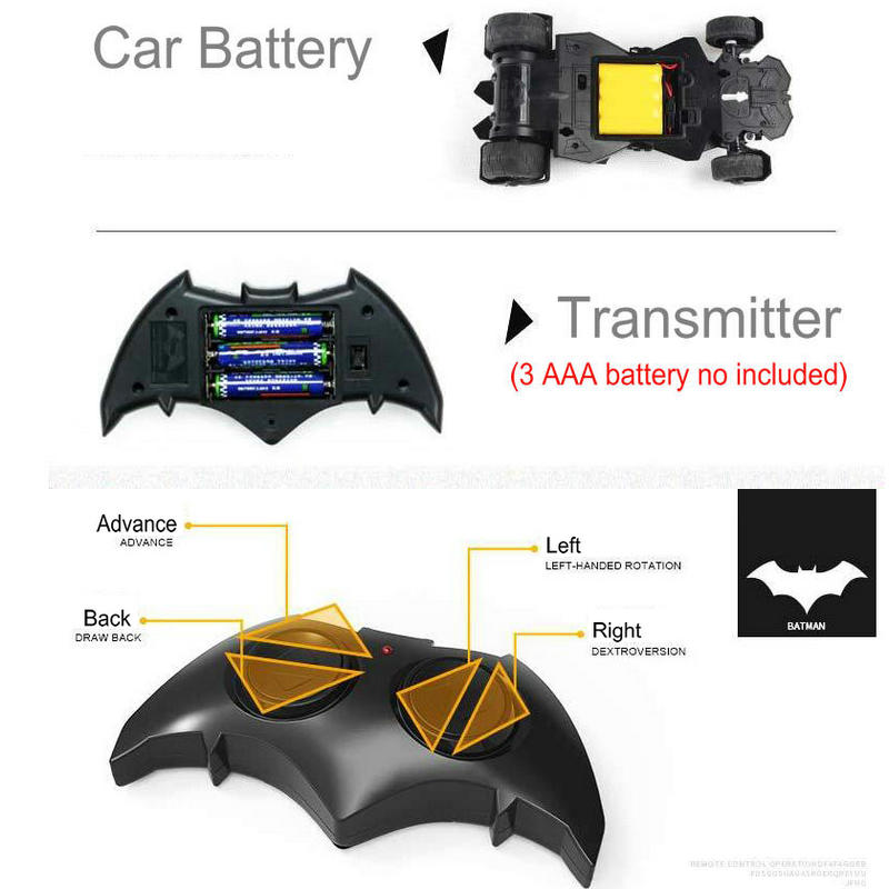 Batman Batmobile RC Car - 60% OFF