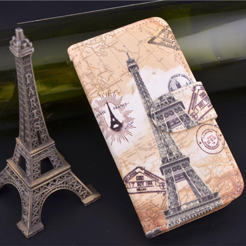 Leather Stand Case For iPhone5