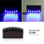 Solar Car Alarm - 80%OFF!
