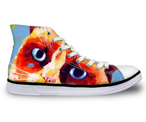 Cat Women`s High Top Shoes - 50% OFF