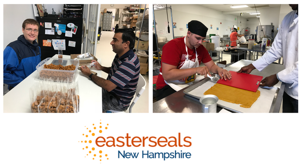 Good Paws works with Easterseals New Hampshire to provide meaningful work for people in their programs
