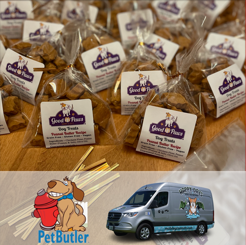 Good Paws dog treat thank you gifts for businesses with dog-loving customers