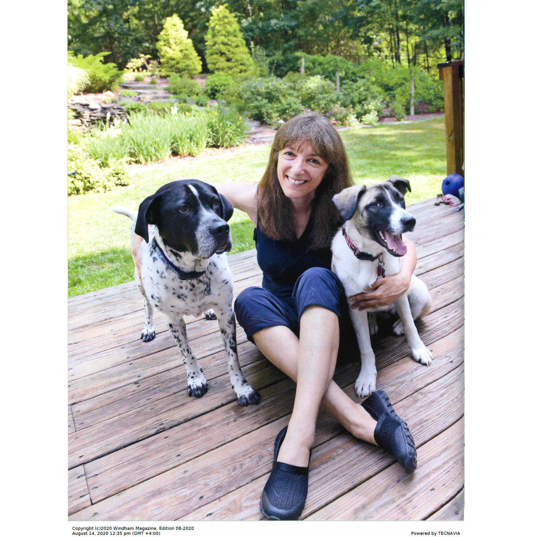 North of Boston Windham Magazine article on Good Paws page 1 of 4
