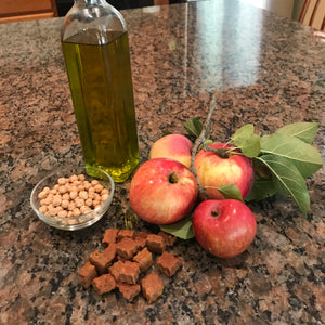 Grain free apple dog treats - ingredient photo - Good Paws Bakery