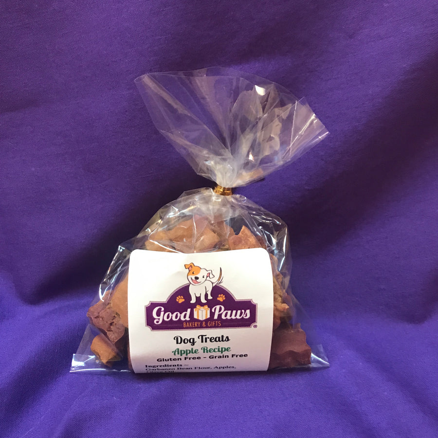 Grain free apple dog treats - small size - Good Paws Bakery