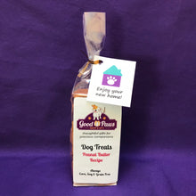 Grain Free dog treats - Enjoy your new home - Peanut Butter treats - Good Paws Bakery