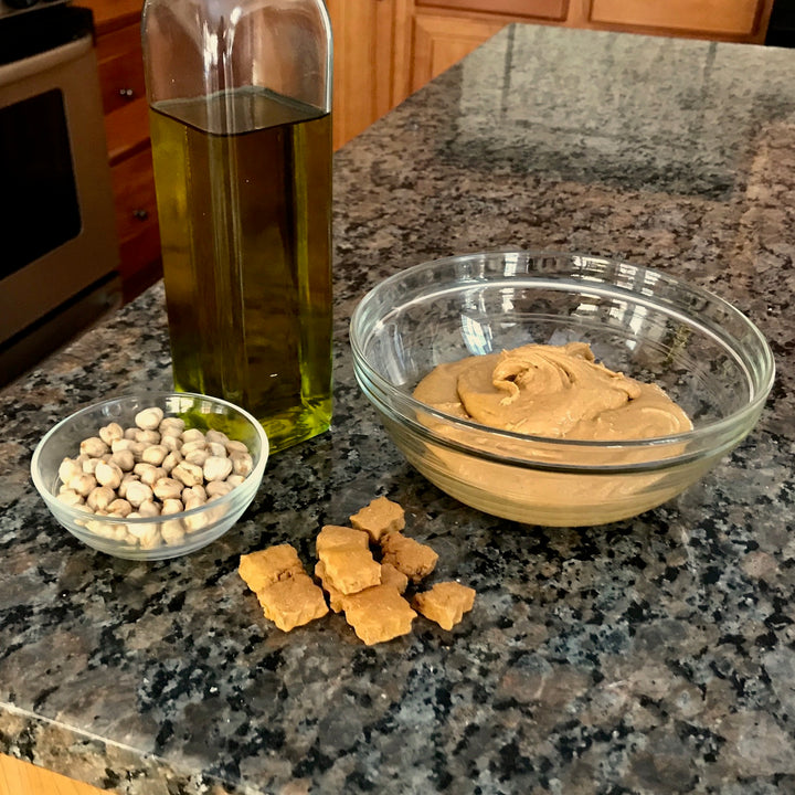 Grain free peanut butter dog treats - ingredient photo - Good Paws Bakery