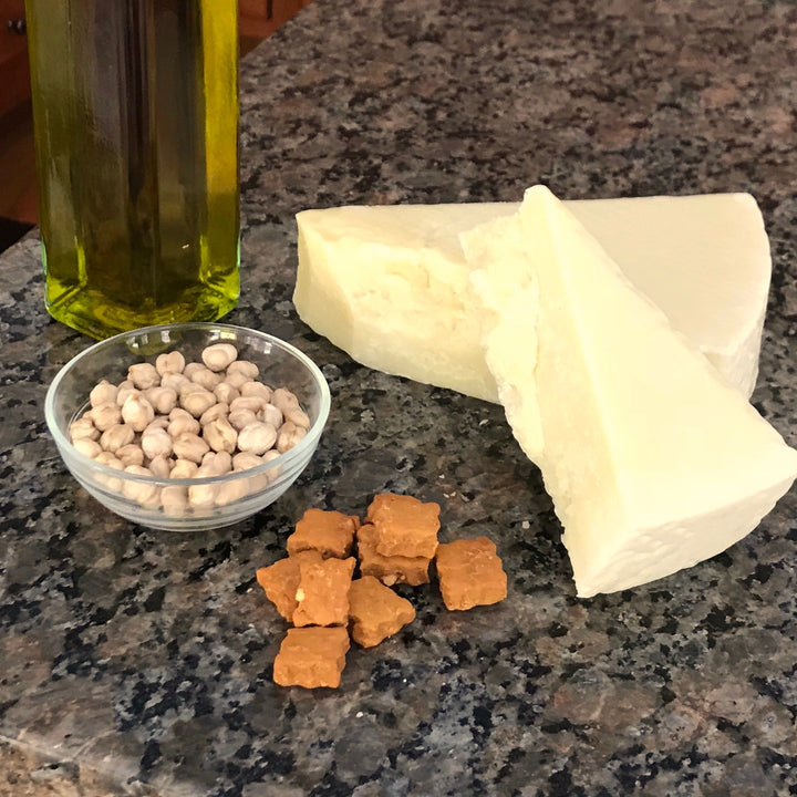 Grain free parmesan cheese dog treats - ingredient photo - Good Paws Bakery