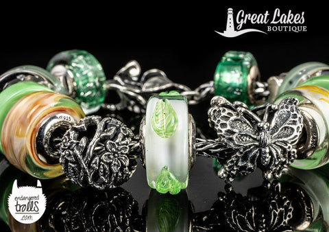 Spring is Here and so is the Ohm Beads Leaf Life