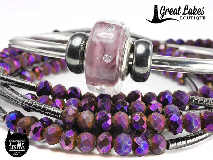 Ohm Beads Lilac Wine Simple Styling