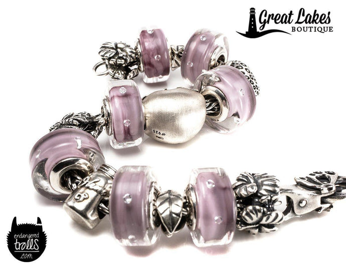 Ohm Beads Lilac Wine for Spring 2019