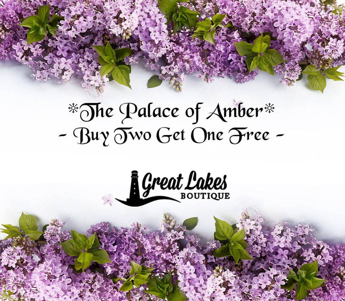 Buy Two Get One Free on The Palace of Amber