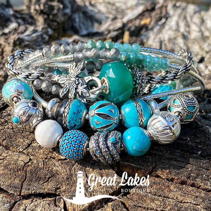 Thomas Sabo Karma Beads Teals & Aquas