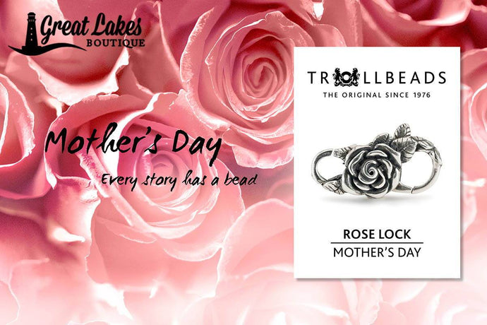 Trollbeads Mother's Day 2020 Preview | Trollbeads Rose Lock