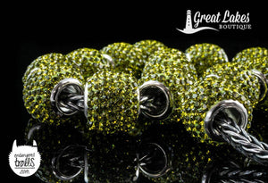 Unreleased Bella Fascini Crystals for Bead Bash on the Lake