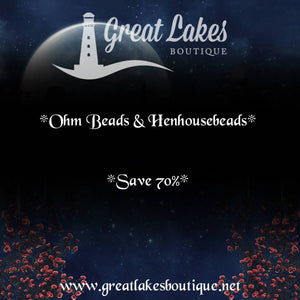 Bead Bash on the Lake Ohm Beads & Henhousebeads Sale