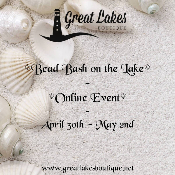 Bead Bash on the Lake Spring 2021 Schedule