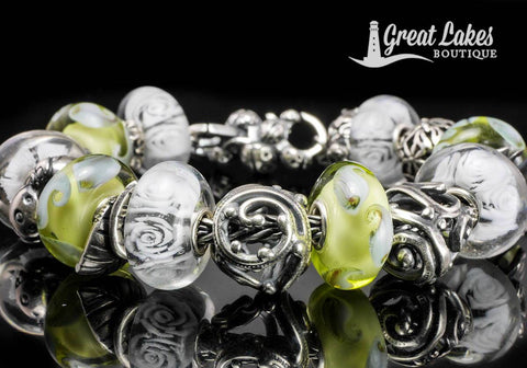 Trollbeads Spring 2020 Inspiration with White Roses
