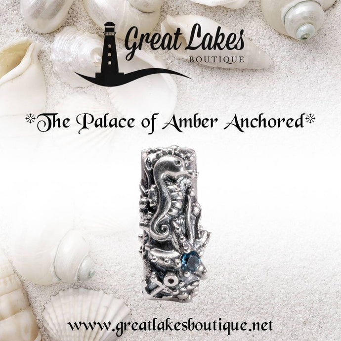 The Palace of Amber Anchored for Bead Bash on the Lake
