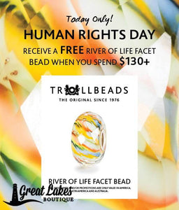 Trollbeads Monthly Free Bead Promotion December