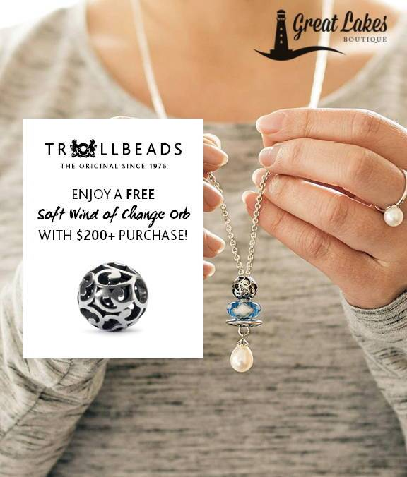 Trollbeads October Gift with Purchase Promotion Begins