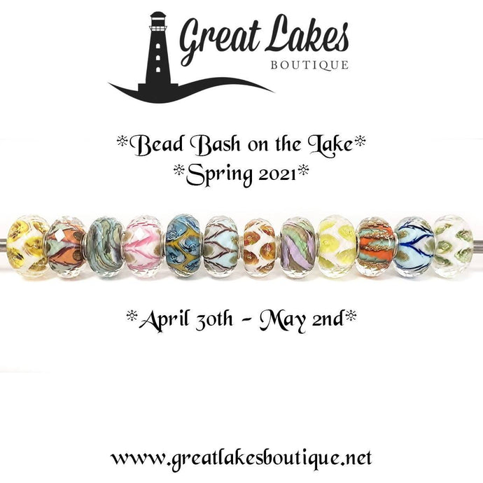 Trollbeads Faceted Uniques for Bead Bash on the Lake Spring 2021