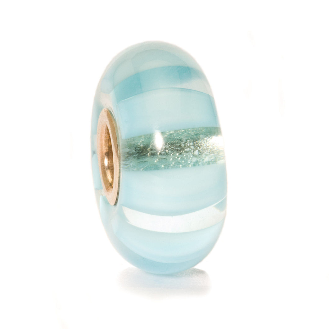 Trollbeads Light Blue Stripe Bead (1520972628011)
