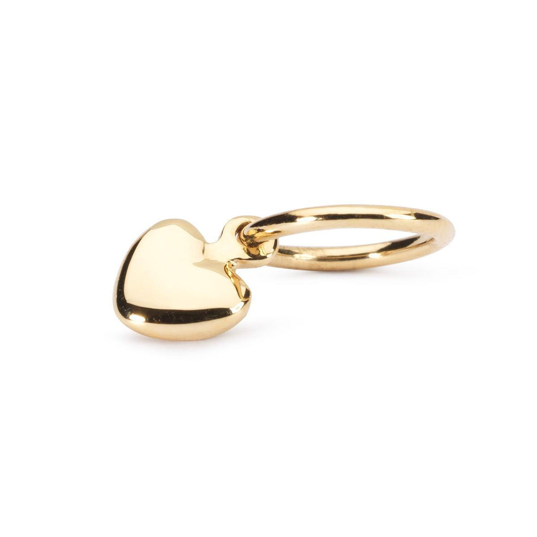 Trollbeads Mini Heart Gold (1648783654955)