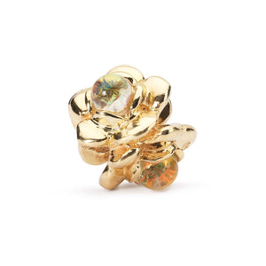 Trollbeads Three Flowers Gold (1648787652651)