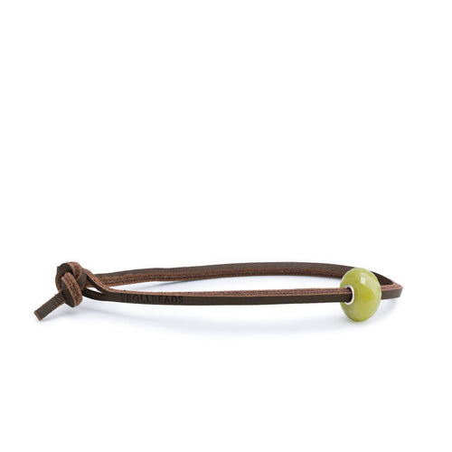 Great Lakes Boutique Serpentine Single Leather Bracelet